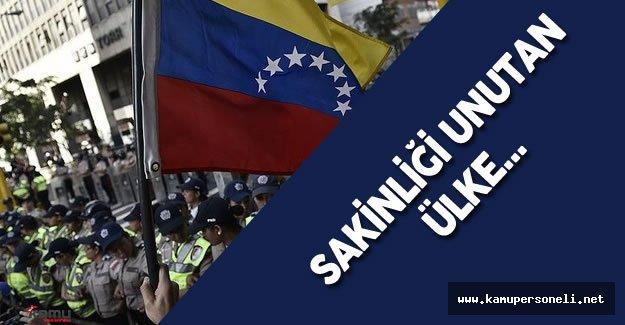Venezuela'da Sular Bir Türlü Durulmuyor