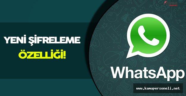 Whatsapp Yeni Şifreleme Özelliği Üzerinde Çalışıyor!