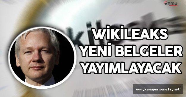 """WikiLeaks'in Kurucusu Assange :"""" Yeni Belgeler Yayımlayacağız"""""""