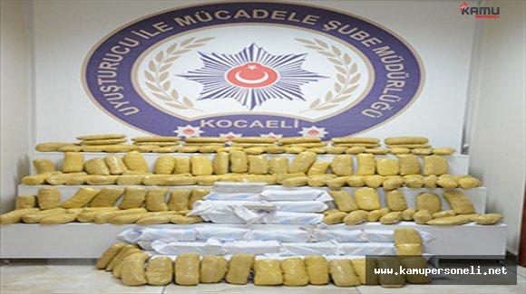 Yabancı Plakalı Bir Tırda 141 Kg Eroin Yakalandı