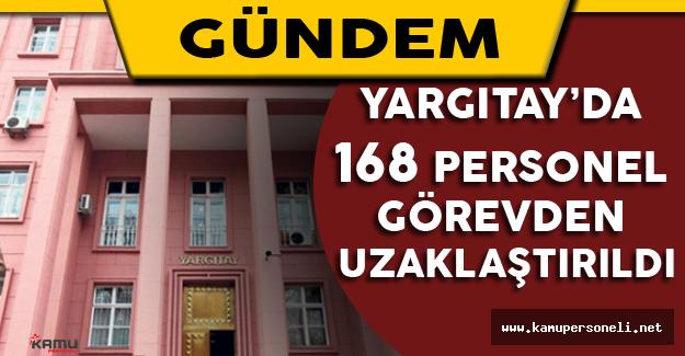 Yargıtay'da 168 Personel Görevden Uzaklaştırıldı