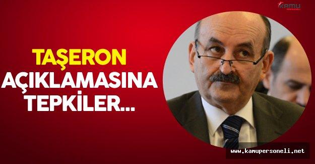 Yeni Bakan Mehmet Müezzinoğlu'nun Taşeron Kadro Açıklamasına İlk Tepkiler