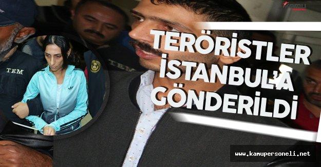 Yenibosna Saldırısının Failleri İstanbul'a Gönderildi