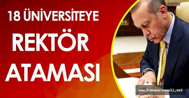 YÖK Önerecek Cumhurbaşkanı Atama Yapacak! ( 18 Üniversite İçin Rektör Ataması)