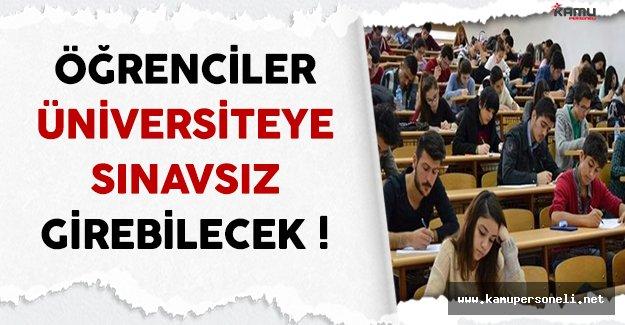 YÖK ve MEB'den Yeni Sınav Sistemi ! ( Öğrenciler Üniversiteye Sınavsız Girecek )