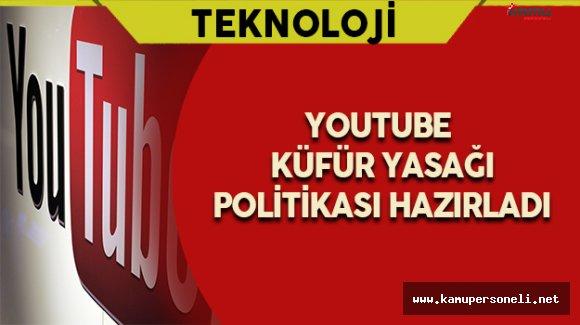 Youtube Küfür Yasağı Düzenlemesi Uyguladı