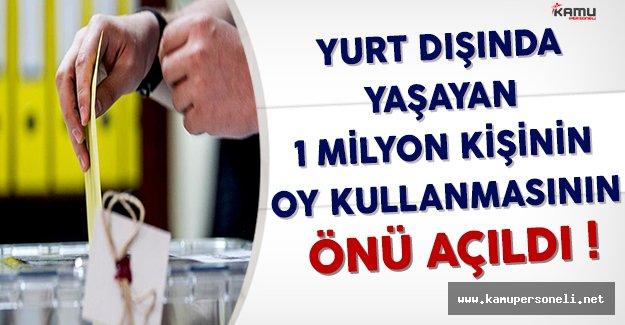 Yurt Dışında Yaşayanlar Referandumda Oy Kullanabilecekler
