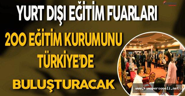 Yurt Dışı Eğitim Fuarıyla 200 Eğitim Kurumu Türkiye'de Buluşacak
