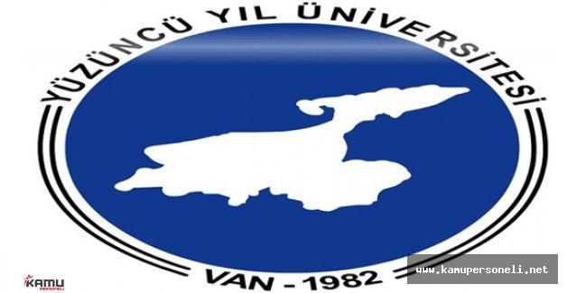 Yüzüncü Yıl Üniversitesi 7 Akademik Personel Alacak