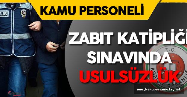 Zabıt Katipliği Sınavında Usulsüzlük Yapan FETÖ Zanlıları Tutuklandı