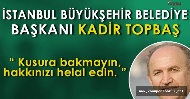 """Zabıtaların Müdahale Ettiği Seyyar Satıcı """" Ali Dayı """" yı İstanbul Büyükşehir Başkanı Aradı"""