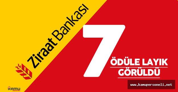 Ziraat Bankası 7 Ödüle Layık Görüldü