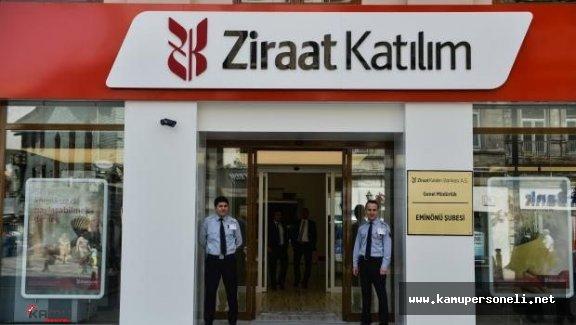 Ziraat Katılım Bankası Personel Alıyor