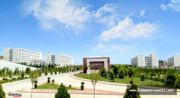 Zirve Üniversitesi Eğitim Yönetmeliği Değişti