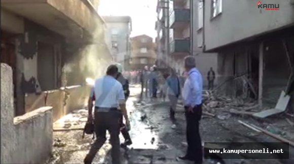 Zonguldak'ta Doğalgaz Patlaması: 1 Yaralı