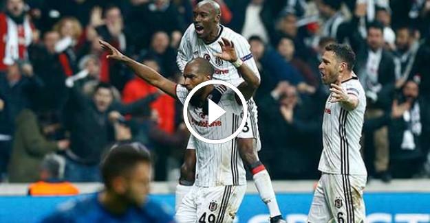Beşiktaş 4-1 Olympiakos | Maçın özeti ve golleri