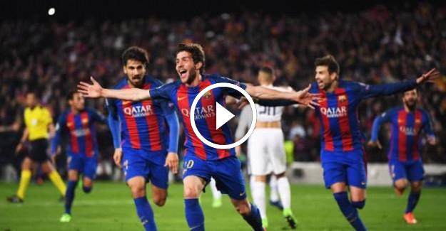 ÖZET | Barcelona 6 - PSG 1
