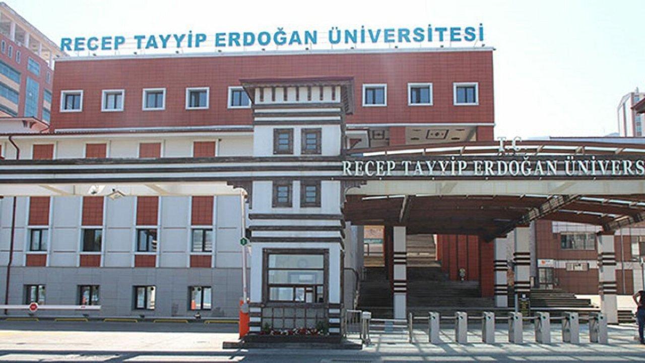 Recep Tayyip Erdoğan Üniversitesi personel alacak!