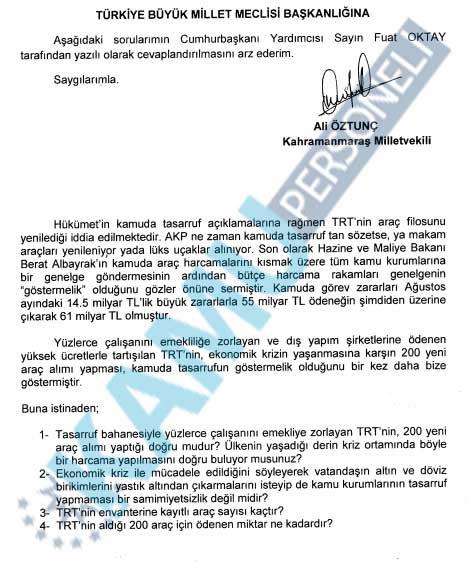 200 Yeni Araç Alındığı İddialarına TRT'den Yanıt Geldi !