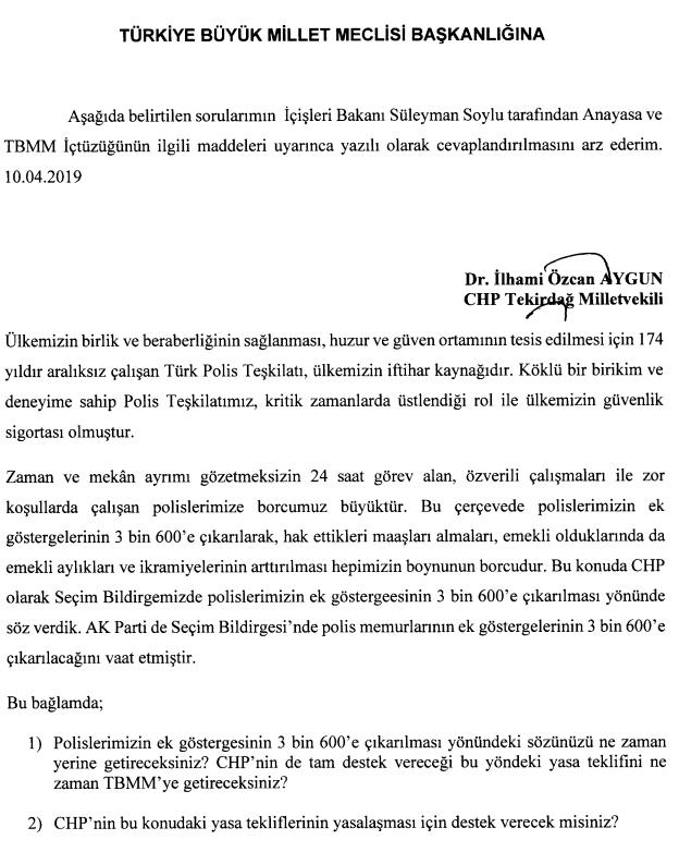 Bakan Soylu'dan polis memurlarının merakla beklediği 3600 Ek Gösterge açıklaması!
