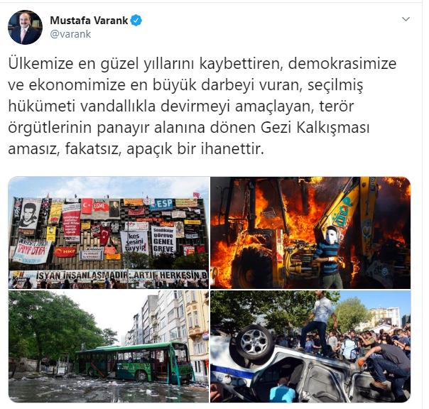 Gezi davası beraat kararına hükümetten tepki geldi!