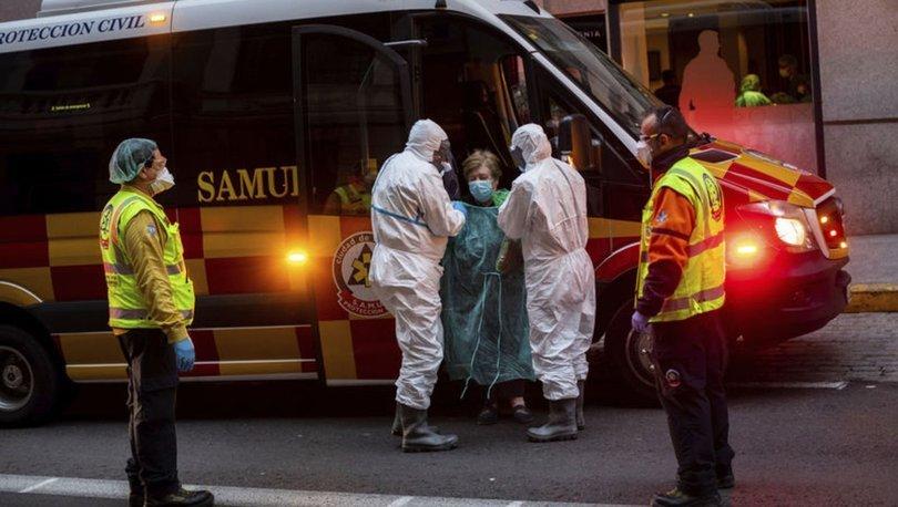 Koronavirüs ölümleri artıyor: İspanya'da son 24 saatte 838 kişi öldü!