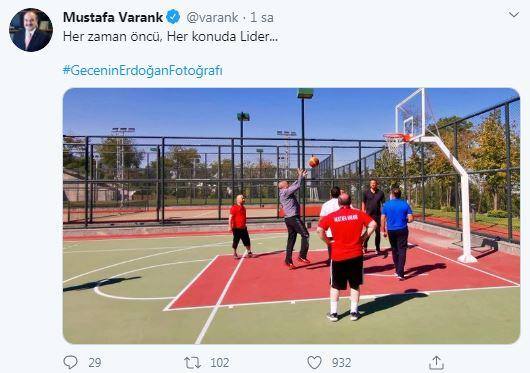 Bakan Varank'ın Cumhurbaşkanı Erdoğan Paylaşımı Gündem Oldu