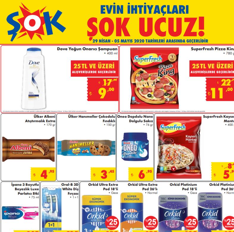 ŞOK Market Ramazan'a özel indirimli ürünlerini açıkladı! İşte 29 Nisan 5 Mayıs Fırsatları