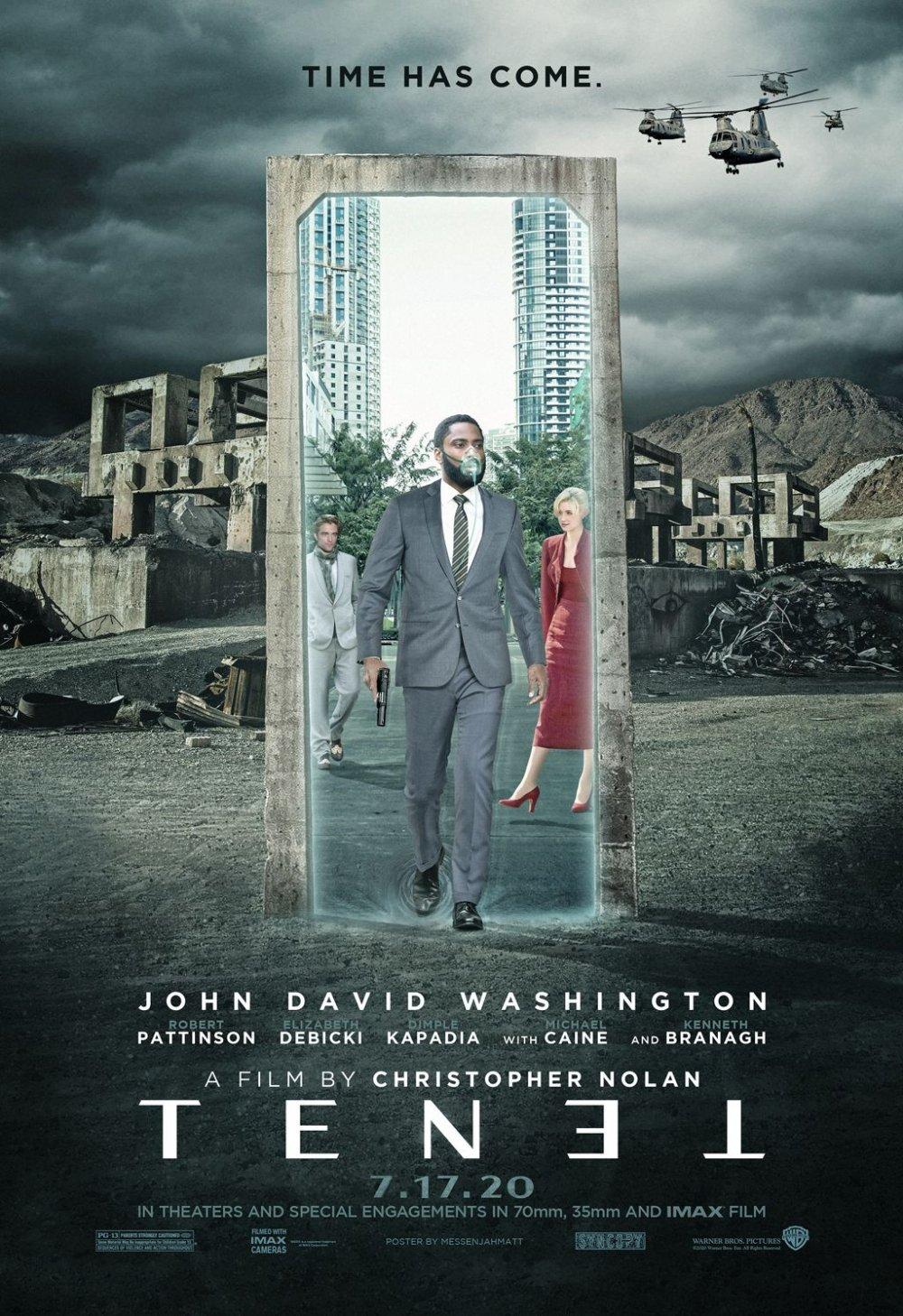 Tenet filmi ne zaman vizyona giriyor? Christopher Nolan'dan yine efsane bir film daha!