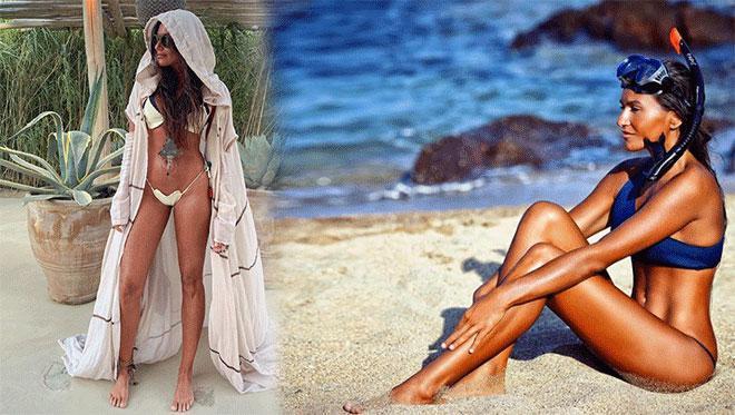 Eda Taşpınar, bikinili pozlarını sosyal medya hesabından yayınladı