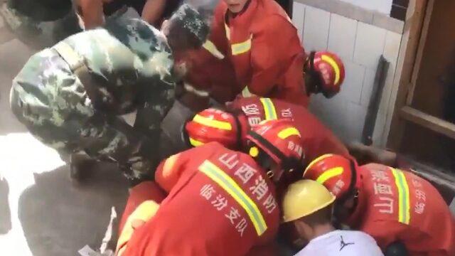 Çin'de otel çöktü! Çok sayıda ölü ve yaralı var