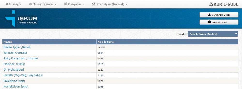 İŞKUR üzerinden KPSS'siz 8 Farklı meslekte çalışacak 23 bin 603 kişi aranıyor! Başvurular başladı