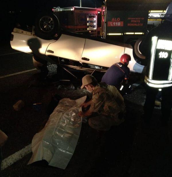 Adıyaman- Şanlıurfa karayolunda kaza! 1 ölü