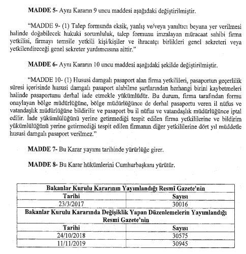 Resmi Gazete'de Kritik Karar ! Pasaport Süresi 4 Yıla Çıkarıldı