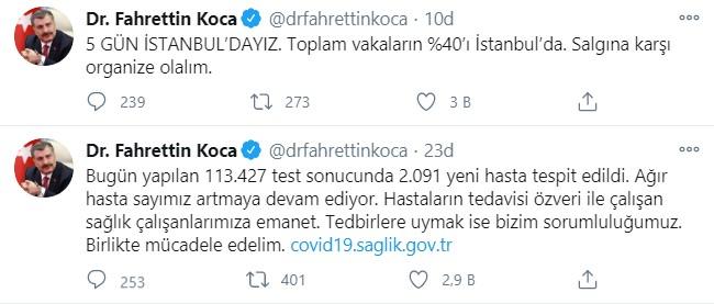 Son dakika Sağlık Bakanı Koca'dan corona virüs açıklaması! Türkiye'deki hastaların Yüzde 40 o ilde çıktı!