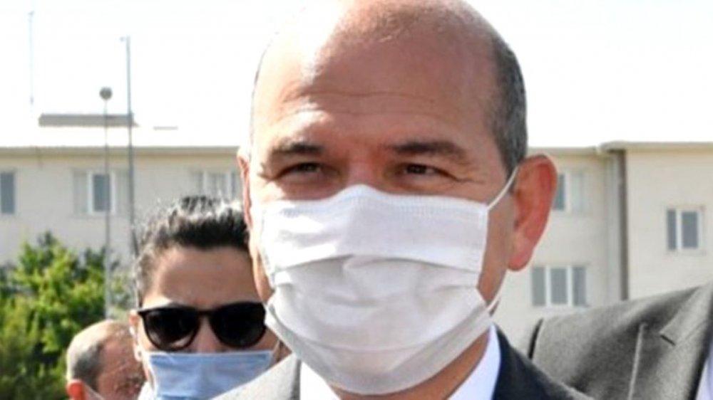 Corona virüs salgınına yakalanan Bakan Soylu'dan son dakika açıklaması!