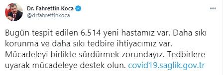 30 Kasım koronavirüs tablosu! Türkiye günlük koronavirüs tablosunda sonra durum!