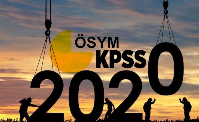 2020 KPSS ortaöğretim sonuç tarihi açıklandı! KPSS ne zaman açıklanacak?