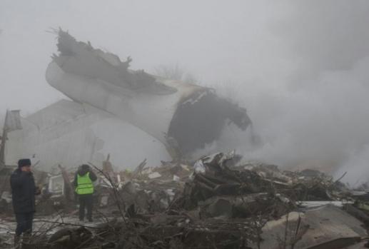 Düşen Türk Kargo Uçağından İlk Görüntüler