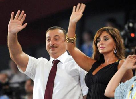 Aliyev, Eşini Cumhurbaşkanı Yardımcısı Olarak Atadı