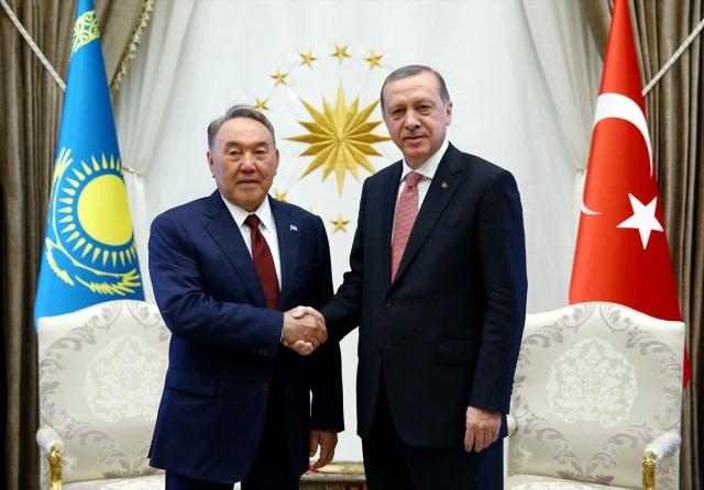 Darbe Girişimi Sonrası İlk Ziyaret Nazarbayev'den
