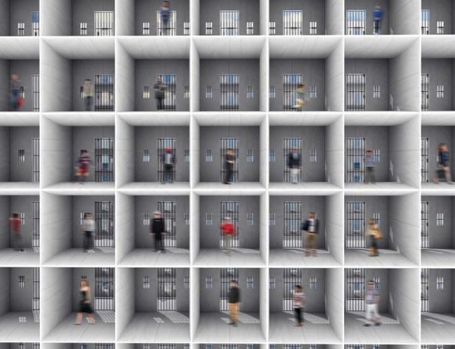 Tasarlanan Yüzen Hapishane'den İlk Görüntüler ! (3 Bin 300 Mahkum Kalacak)