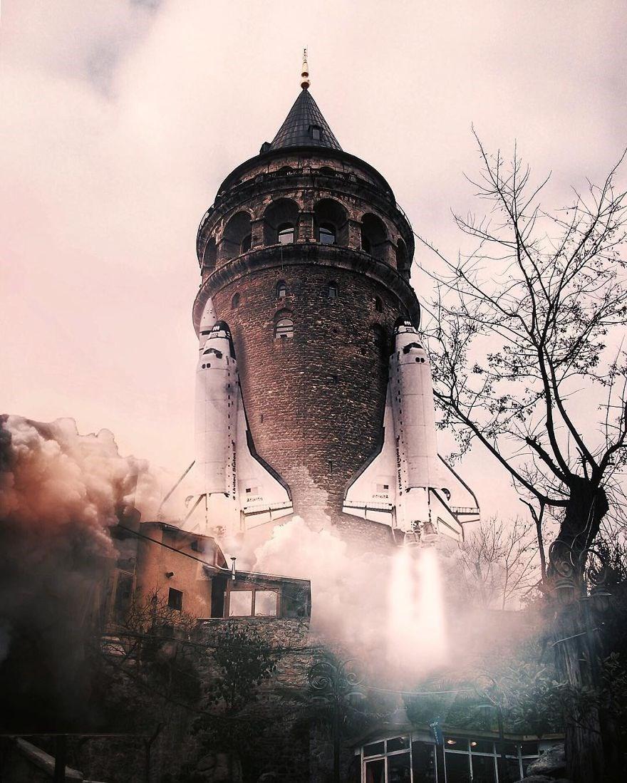 Görsel sanatçı Hüseyin Şahin, rüyalar gerçek olsaydı temalı bir proje hazırladı. İşte, hayal gücünün sınırlarını zorlayan gerçeküstü fotoğraflar...