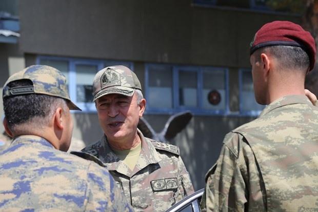 Genelkurmay Başkanı Orgeneral Hulusi Akar Erzurum'u Ziyaret Etti