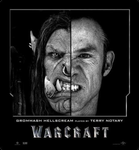 'Warcraft' filmi oyuncularının görsel efektlerle dönüşümü