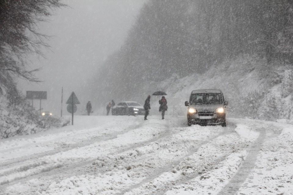 Yılın İlk Karı Düştü ! İşte Kar Yağışı Olan Yerler