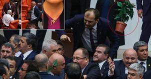 Anayasa Görüşmelerinde Mecliste Kavga Çıktı İşte O Görüntüler