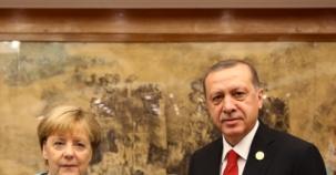 Erdoğan ile Merkel Görüşmesi
