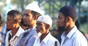 Myanmar'da Kurban Bayramı Coşkusu