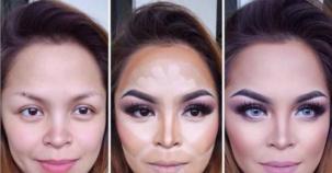 Yaptıkları Makyajla Kendini Baştan Yaratan 16 Kadın